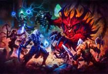 New Diablo Comic Key Art Titan Comics Blizzard Publishing