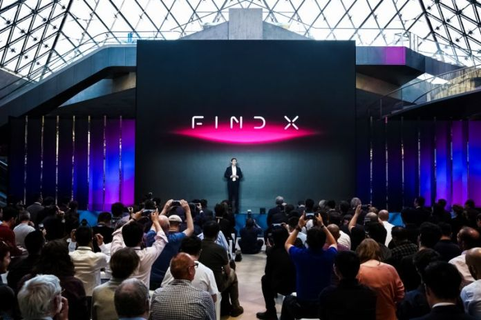 New smartphone release oppo find x press event launch announcement paris france_compressed