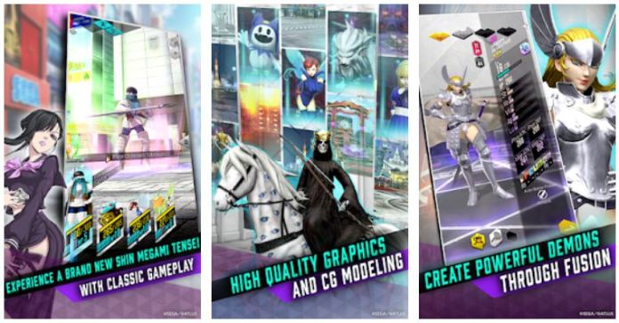 Sega Mobile RPG Android iOS Game AR SHIN MEGAMI TENSEI Liberation D×2