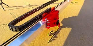 make something engineering diy sand drawing robot 3d printing stem beach spain crop