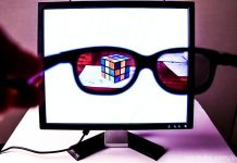 DIY video by YouTuber brusspup privacy screen how to guide spy glasses led screen
