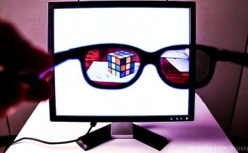 DIY video by YouTuberbrusspup privacy screen how to guide spy glasses led screen