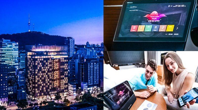 KT Corp News Novotel Ambassador Seoul Dongdaemun Hotels Residences AI Enabled Rooms Smart Home IoT 5G Voice Command AC TV Lights