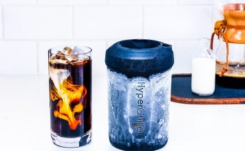 HyperChiller V2 New Model Review Iced Coffee Cold Cool Beverages Wine Cocktail Whiskey No ice