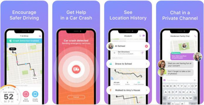 Family Locator Driving Safety Automatic GPS App Android iOS Life360