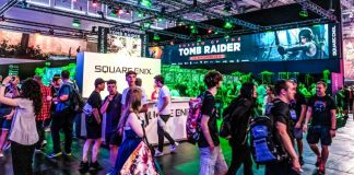 Gamescom Square Enix Shadow Of The Tomb Raider Games News Tencent Holdings Cooperation Booth 2018 People Gamers