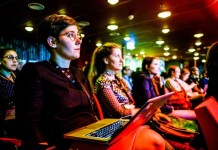 Women Sitting Audience Listening Learning VeriSM ITSM Service Management Skills Knowledge eLearnist Zone Professional Education