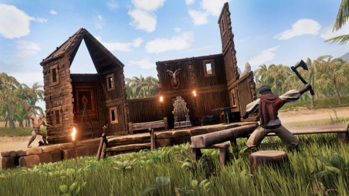Conan Exiles Fantasy Survival Game Review Funcom Article Outside Graphics Crafting Building