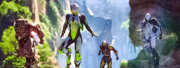 Anthem EA Game Character Line Up Flying Kinda Funny Games Recap Article