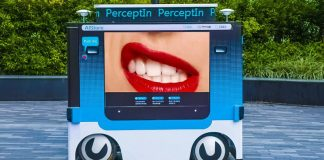 PerceptIn DragonFly Intelligent Advertising Vehicle Prototype from Video Footage
