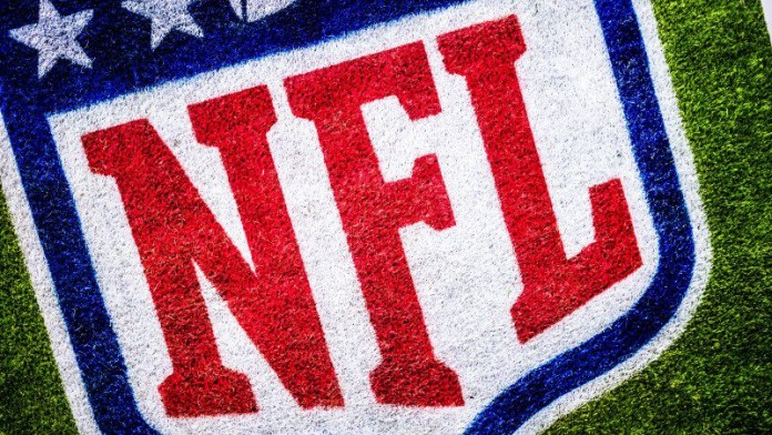 NFL Logo Grass Paint Technology American Football Innovation