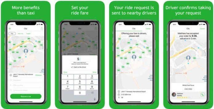 inDriver App Screenshots