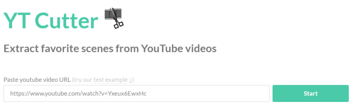 YouTube Crop And Download Tutorial Step 1
