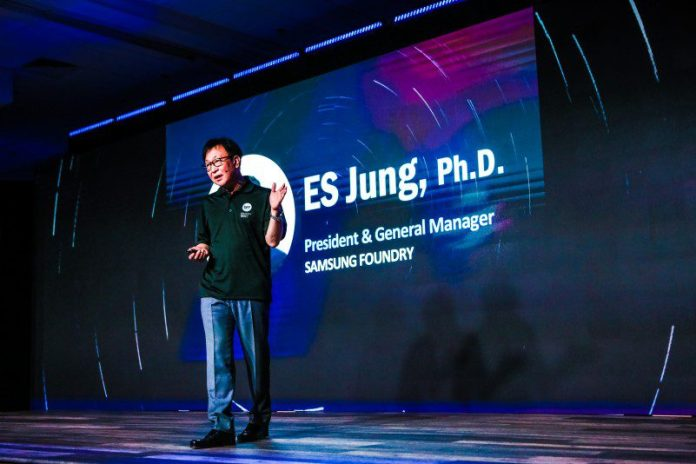 ES Jung President and General Manager Samsung Foundry Semiconductor News Innovation Technology Update Infographic
