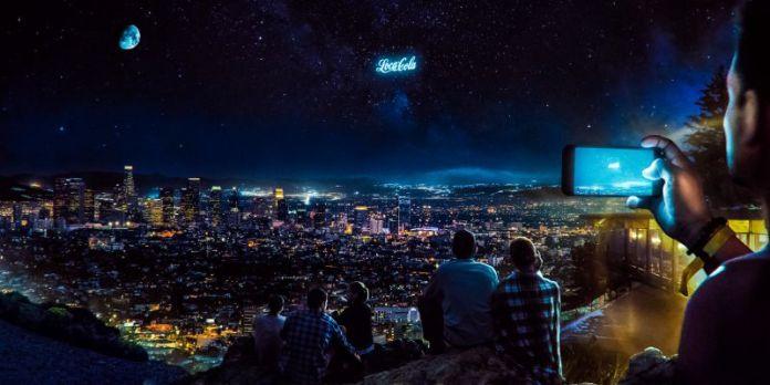 StartRocket Orbital Display Space Ads Concept Crowd Vivid