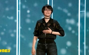 Ikumi Nakamura E3 Game Creative Director Tango Gameworks Bethesda Softworks Ghostwire Tokyo Reveal Event Speech