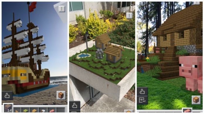 Minecraft Earth Preview Article Link Pre Register iOS Android App AR Game
