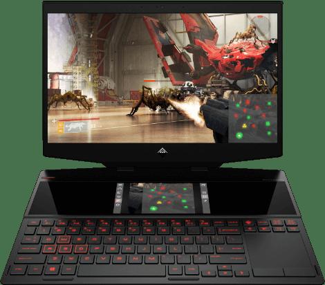 Omen By HP X 2S Dual Screen Gaming Laptop
