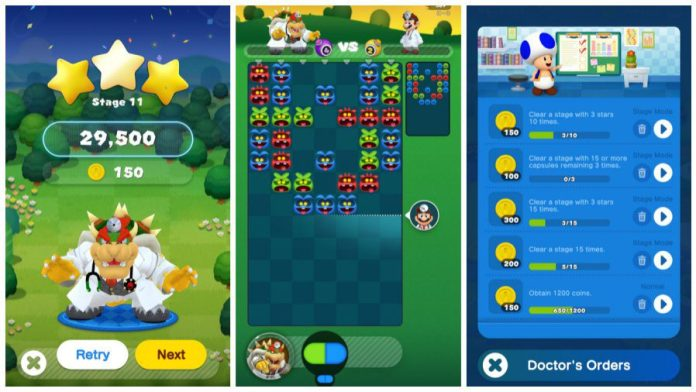 Dr Mario World Gameplay Screenshots 2
