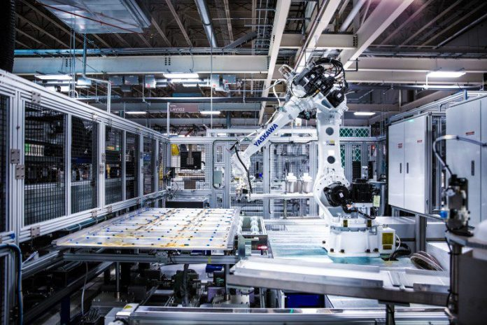 Gigafactory 2 Industrial Robot Industry 4 Robotics Arm Assembly Manufacturing Tesla Yaskawa Tech Production Factory