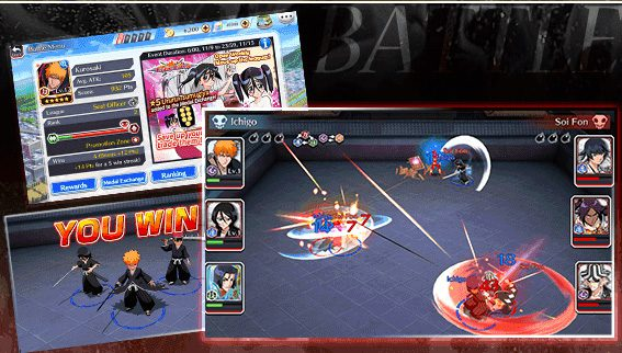 Bleach Brave Souls Mobile Game Android Anime iOS Screenshot 1