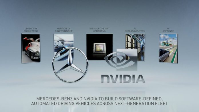 Mercedes-Benz and NVIDIA planto build a new software-defined computing architecture for ADAS that will enable state-of-the-art automated driving, to be deployed across Mercedes-Benz' Future Fleet.