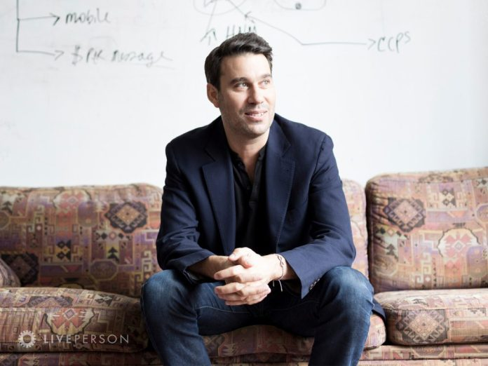 Founder and CEO, Rob LoCascio at HQ in NYC
