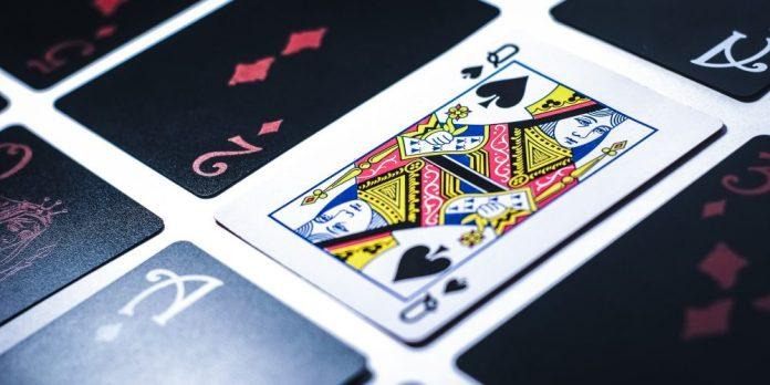 Online Blackjack Queen Of Spades Game Cards