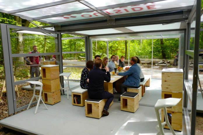 Outside Society Meeting Box Forest German Startup Berlin Area New Work Workshops Nature Outdoors