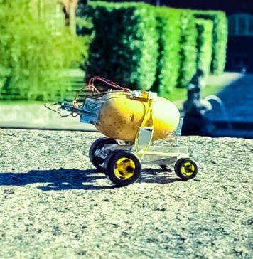 Self-Driving Potato Video Marek Baczynski Robots Robotics