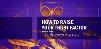 CS:GO Raise Trust Factor 2020 Checklist Header
