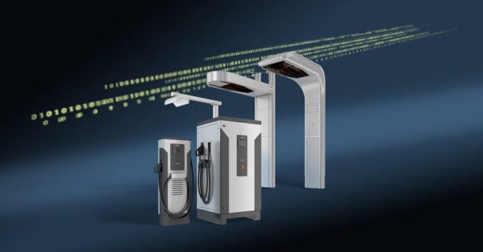 Siemens Smart Infrastructure Sicharge UC 200 Charging Centers EV