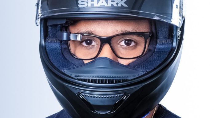 EyeRide Head-Up Display for Helmet Makes Sure Your Attention Never Gets Off from the Road