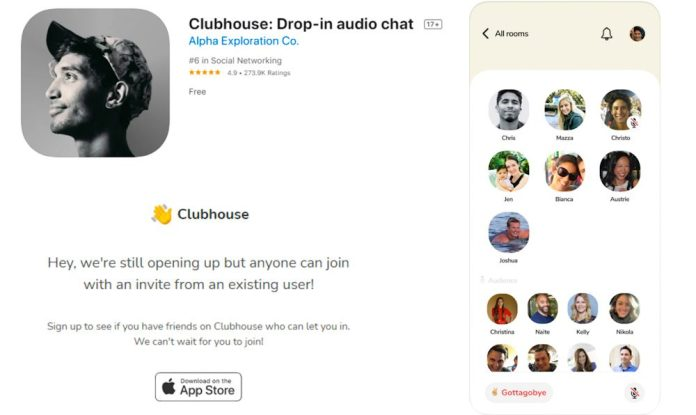 Clubhouse Audio Chat Voice Only App