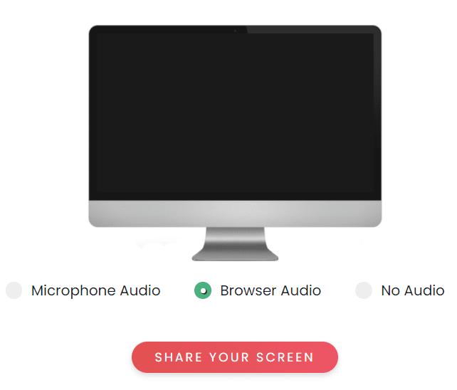 ScreenApp Screen Recording Browser Tutorial Step 1