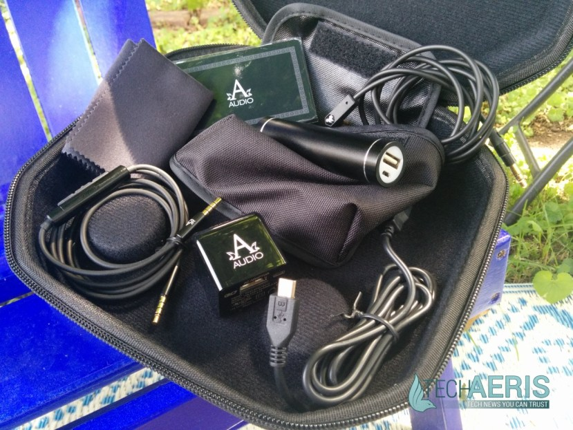 A-Audio Icon Review Accessories