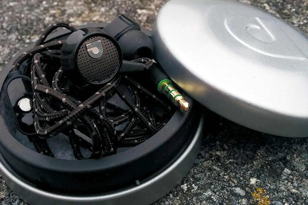 AudioFly AF56m in case.