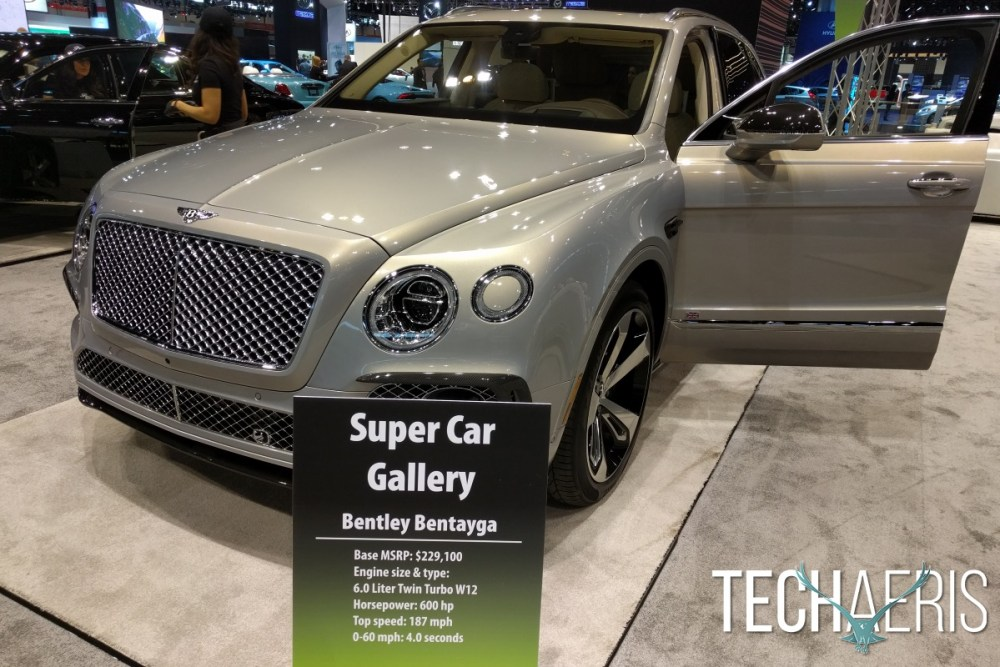 Chicago Auto Show 2016 Bentley Bentayga
