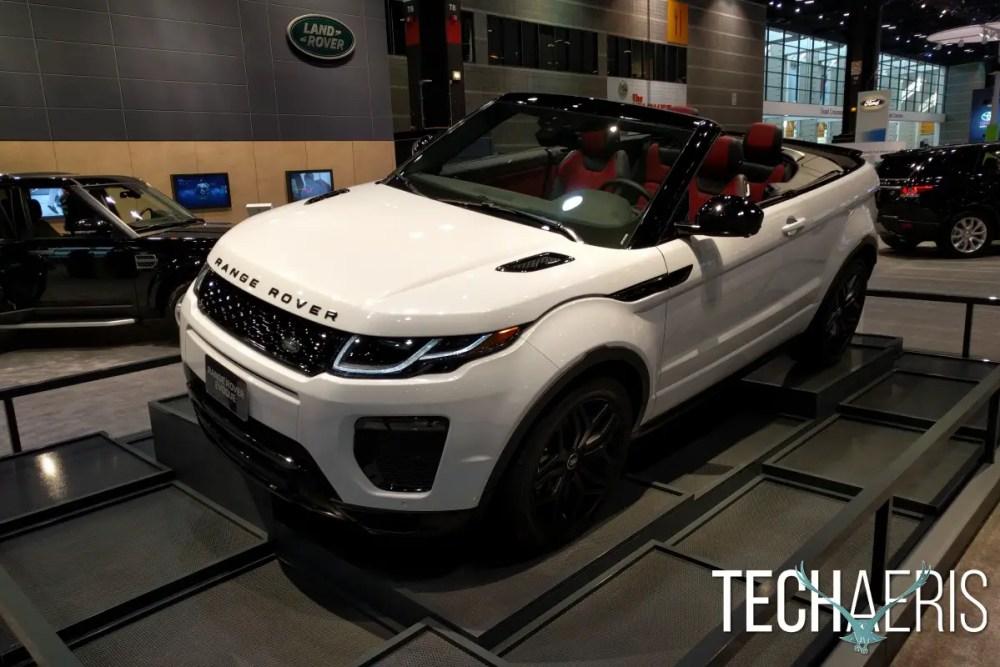 Chicago Auto Show 2016 Range Rover Evoque