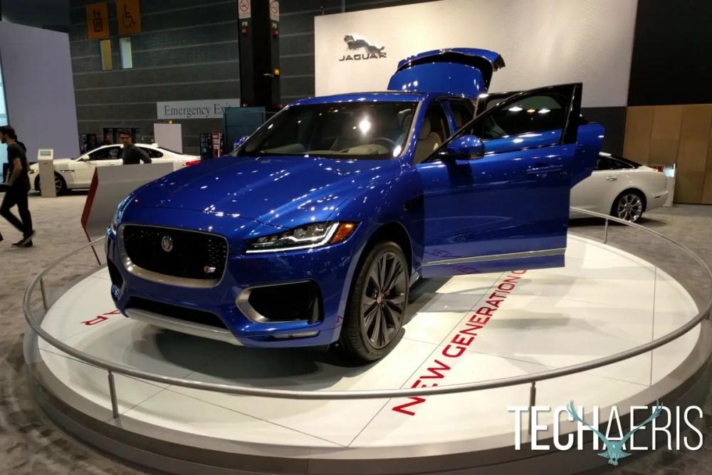 Chicago Auto Show Jaguar SUV