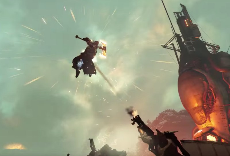 Rise of Iron will let you wield a flaming war axe.