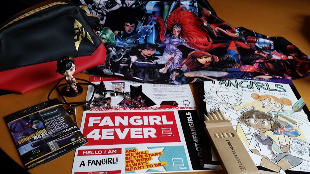 Loot4FanGirls Unboxed