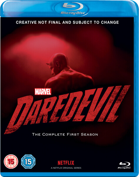Marvel's Daredevil is coming to Blu-ray