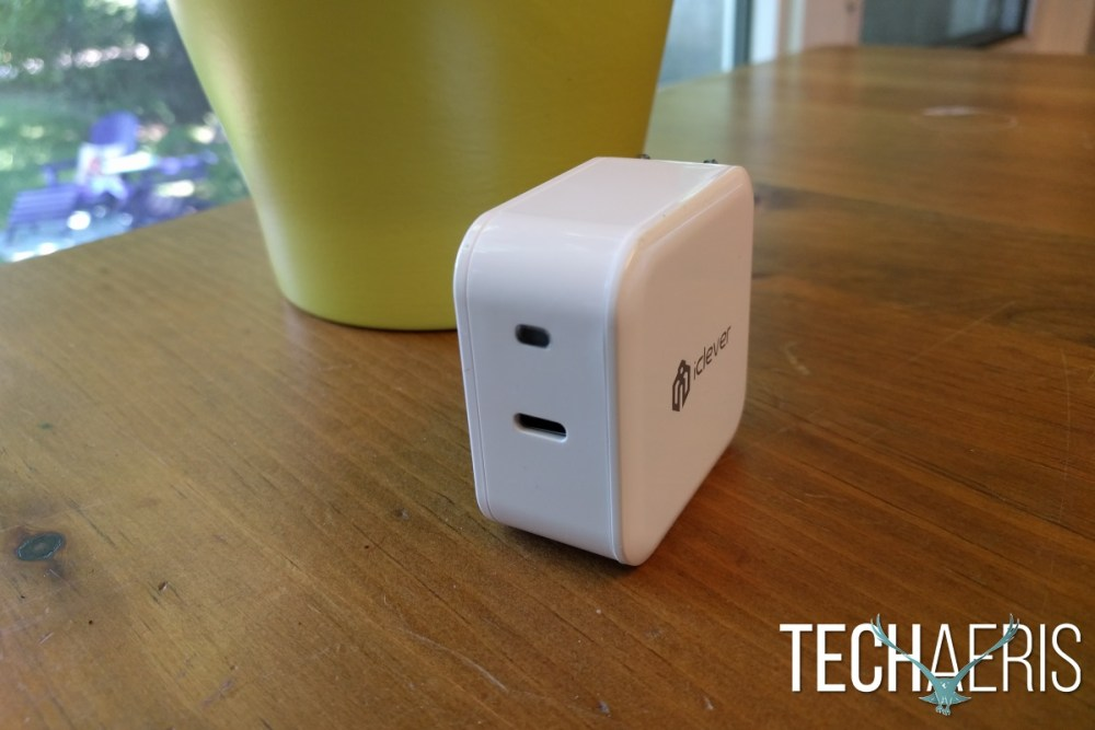 iClever BoostCube USB-C Wall Charger Front