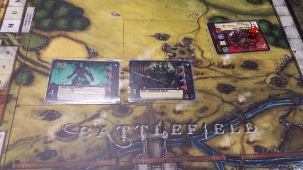 Castle Assault board