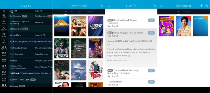Tablo Review App Screenshots