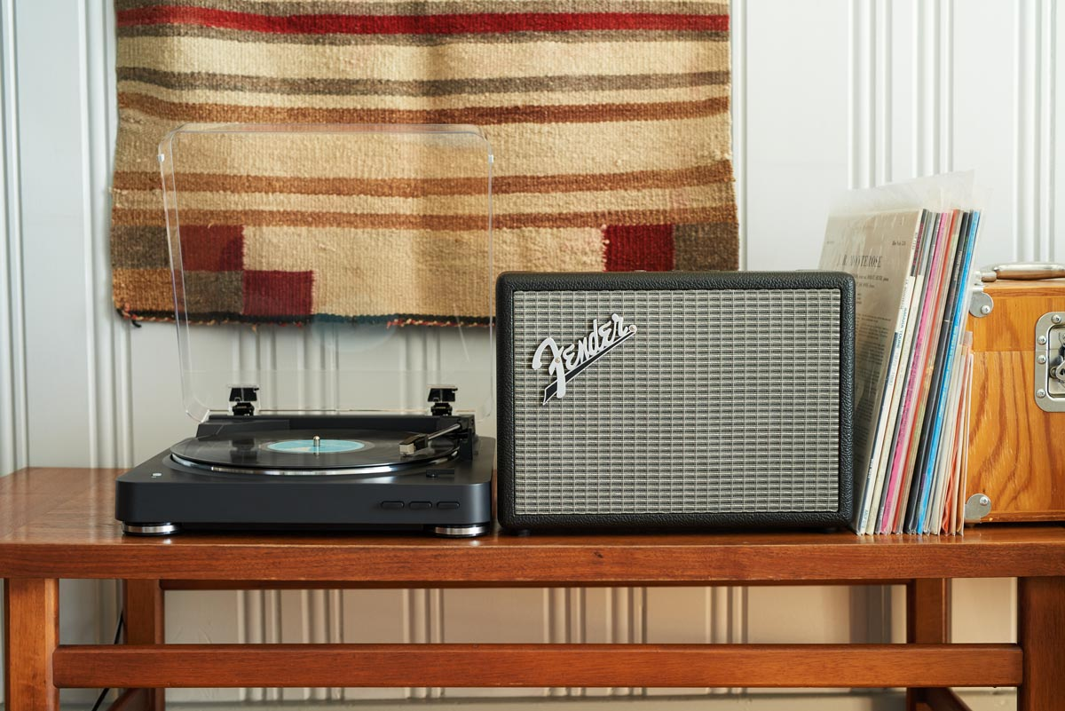 Fender's Bluetooth speakers look a lot like its guitar amps