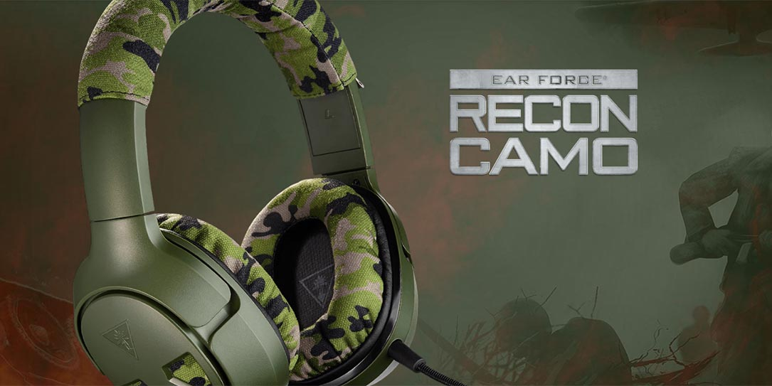 Turtle Beachs Multi Platform Recon Camo Gaming Headset