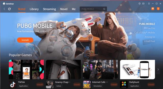 Gameloop 7.1 version look like this