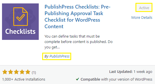 Install and Activate the PublishPress Plugin